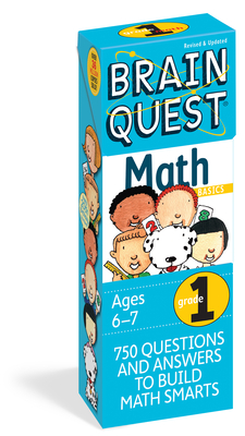 Brain Quest Grade 1 Math - Martinelli, Marjorie