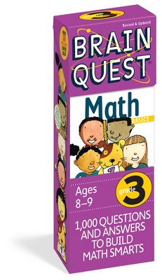 Brain Quest Grade 3 Math - Meyer, Janet A