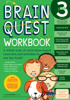 Brain Quest Grade 3 Workbook - Meyer, Janet A