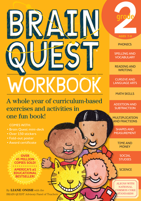 Brain Quest Workbook: Grade 2 - Onish, Liane
