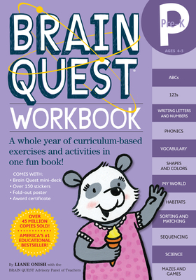 Brain Quest Workbook: Pre-K - Onish, Liane