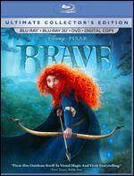 Brave [Ultimate Collector's Edition] [5 Discs] [Includes Digital Copy] [2D/3D] [Blu-ray/DVD] - Brenda Chapman; Mark Andrews