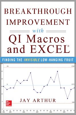 Breakthrough Improvement with QI Macros and Excel: Finding the Invisible Low-Hanging Fruit - Arthur, Jay