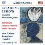 Breathing Lessons: Music for Saxophone Quartet