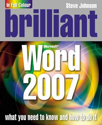Brilliant Word 2007 - Johnson, Steve