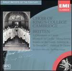 Britten: A Ceremony of Carols; Hymn to St. Cecilia; etc.