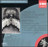 Britten: A Ceremony of Carols; Hymn to St. Cecilia; etc. - Anthony Sackville (treble); Christopher Anderson (treble); David Corkhill (percussion); Ian Hare (organ);...