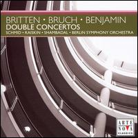 Britten, Bruch, Benjamin: Double Concertos - Benjamin Schmid (violin); Daniel Raiskin (viola); Berlin Symphony Orchestra; Lior Shambadal (conductor)
