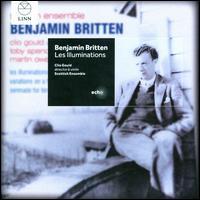 Britten: Les Illuminations; Variations on a Theme of Frank Bridge; Serenade for Tenor, Horn and Strings - Clio Gould (violin); David Peller (double bass); Donald Gillan (cello); Georgia Boyd (viola); Martin Owen (horn);...