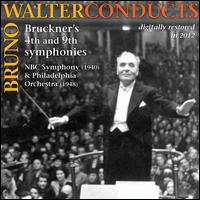 Bruno Walter Conducts Bruckner's 4th and 9th Symphonies - Bruno Walter (conductor)
