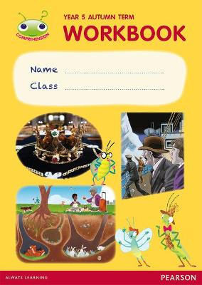 Bug Club Comprehension Y5 Term 1 Pupil Workbook 16-pack - Casey, Catherine, and Snashall, Sarah, and Taylor, Andy