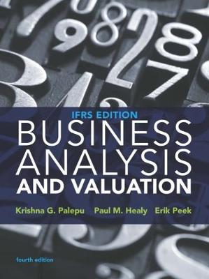 9781473722651 business analysis and valuation ifrs edition erik business analysis and valuation ifrs edition peek erik and healy paul fandeluxe Image collections