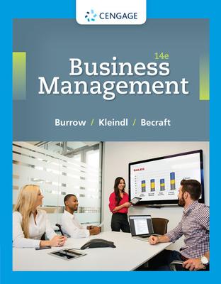 Business Management - Burrow, James L, and Kleindl, Brad