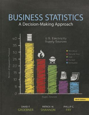 Business Statistics Plus NEW MyStatLab with Pearson eText -- Access Card Package - Groebner, David F., and Shannon, Patrick W., and Fry, Phillip C.