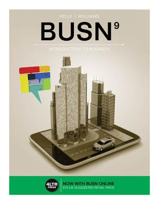 Busn (with Busn Online, 1 Term (6 Months) Printed Access Card) - Kelly, Marcella, and Williams, Chuck