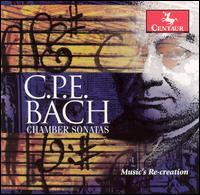 C.P.E. Bach: Chamber Sonatas - Carla Moore (baroque violin); John Dornenburg (viola da gamba); Lorna Peters (harpsichord); Louise Carslake (baroque flute);...