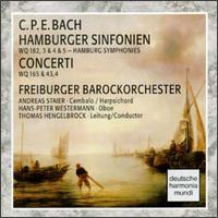 C.P.E. Bach: Hamburger Sinfonien; Concerti - Andreas Staier (cembalo); Hans-Peter Westermann (oboe); Freiburger Barockorchester; Thomas Hengelbrock (conductor)
