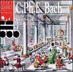 C. Ph. E. Bach: Concertos for Harpsichord & Strings