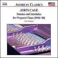 Cage: Sonatas and Interludes for Prepared Piano - Boris Berman (piano)
