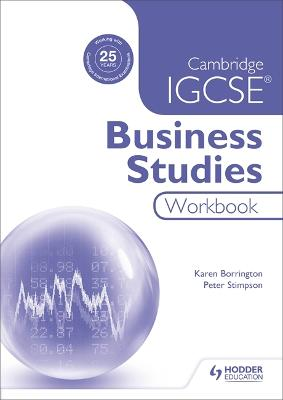 Cambridge IGCSE Business Studies Workbook - Borrington, Karen, and Stimpson, Peter