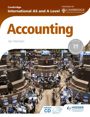 Cambridge International AS and A Level Accounting - Harrison, Ian