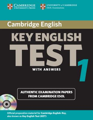 Cambridge Key English Test 1 with Answers: Examination Papers from University of Cambridge ESOL Examinations: English for Speakers of Other Languages - Cambridge University Press (Creator)
