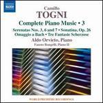 Camillo Togni: Complete Piano Music, Vol. 3