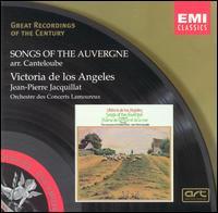 Canteloube: Chants d'Auvergne, Series 1 - Victoria de los Angeles (soprano); Orchestre des Concerts Lamoureux; Jean-Pierre Jacquillat (conductor)