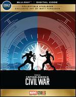 Captain America: Civil War [SteelBook] [Blu-ray] [Only @ Best Buy]