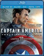 Captain America: The First Avenger [3D] [Blu-ray/DVD] [Includes Digital Copy]