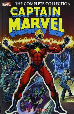 Captain Marvel: The Complete Collection - Various Artists (Text by), and Englehart, Steve (Text by), and Friedrich, Mike (Text by)