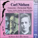 Carl Nielsen: Concertos- Orchestral Works, Volume 2 - Aksel Schi�tz (tenor); Ellen-Margrethe Edlers (mezzo-soprano); Emil Telmanyi (violin); Herman D. Koppel (piano);...