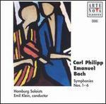 Carl Philipp Emanuel Bach: Symphonies Nos. 1-6