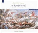 Carl Philipp Stamitz: 10 Symphonies