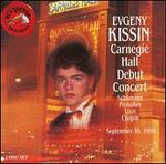 Carnegie Hall Debut Concert