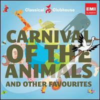 Carnival of the Animals and Other Favourites - Anthony Moroney (flute); Brenda Lucas (piano); Hilary Robinson (cello); John Ogdon (piano); William Rushton