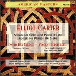 Carter: Sonata for Cello and Piano; Sonata for Piano - Anthony Makas (piano); Bernard Greenhouse (cello); Beveridge Webster (piano); George Bennette (piano); Ruth Maayani (harp);...