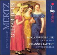 Caspar Joseph Mertz: Guitar Duos - Johannes Tappert (guitar); Sonja Prunnbauer (guitar)