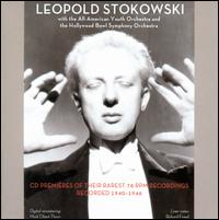 CD Premières of their Rarest 78 RPM Recordings, Recorded 1940-1946 - Henry Cowell (piano); Leopold Stokowski (conductor)