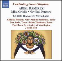 Celebrating Sacred Rhythms - Carlos Boltes (charango); Carmen de Vicente (castanets); Christal Rheams (alto); Edgardo Malaga (bass);...