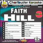 Chartbuster Karaoke: Faith Hill, Vol. 3