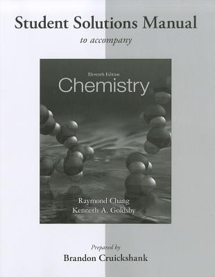 9780077386542 Chemistry Student Solutions Manual Raymond