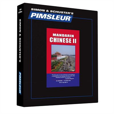 Chinese (Mandarin) 2 Comprehensive - Pimsleur