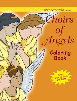 Choirs of Angels: Colouring Book - Sotnik, Katherine