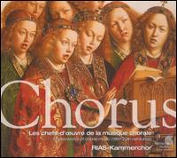 Chorus: Masterworks of Choral Music (18th-20th centuries) - Akademie für Alte Musik, Berlin; Alain Planès (piano); Bernarda Fink (mezzo-soprano); Concerto Köln;...