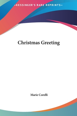 Christmas Greeting Christmas Greeting - Corelli, Marie