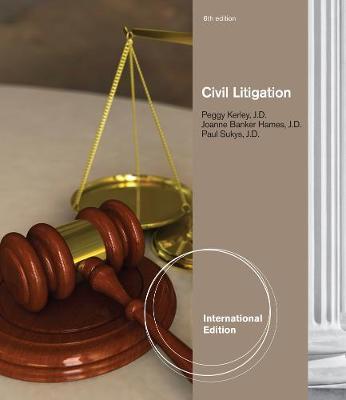 Civil Litigation - Kerley, Peggy, and Hames, Joanne Banker, and Sukys, Paul