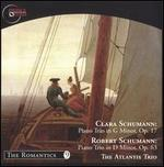 Clara Schumann: Piano Trio in G minor, Op. 17; Robert Schumann: Piano Trio in D minor, Op. 63