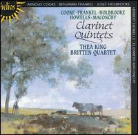 Clarinet Quintets - Andrew Shulman (cello); Britten String Quartet; Keith Pascoe (violin); Peter Lale (viola); Peter Manning (violin);...