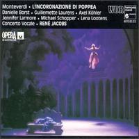 Claudio Monteverdi: L'incoronazione di Poppea - Andreas Lebeda (baritone); Annette Sichelschmidt (violin); Axel Köhler (counter tenor); Bart Coen (recorder);...